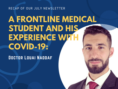 A Frontline Medical Student and His Experience with COVID-19