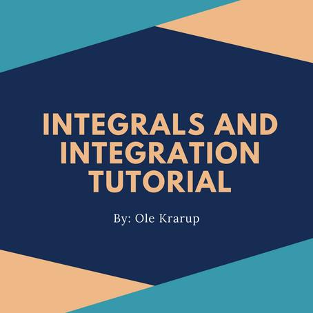 Integrals and integration tutorial