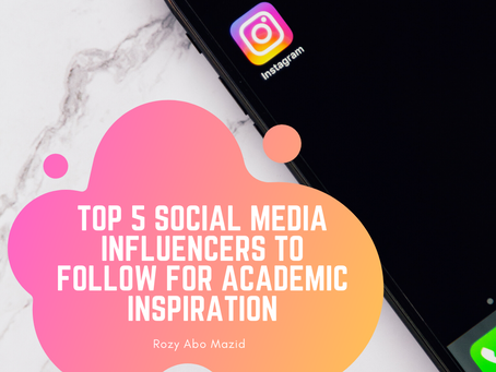 Top Five Social Media Influencers to Follow for Academic Inspiration