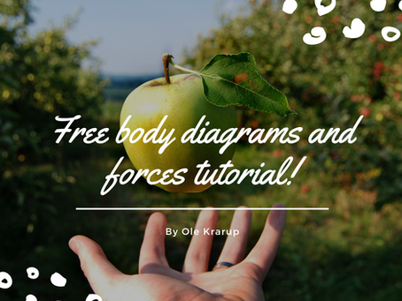 Free body diagrams and forces tutorial