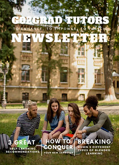 Subscribe to the latest issue of the Go2Grad tutors Newsletter for the latest topics in education