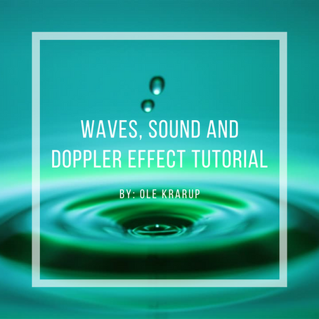 Waves, sound and Doppler effect tutorial