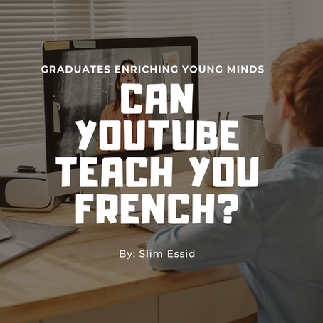 Can YouTube Teach Us French?