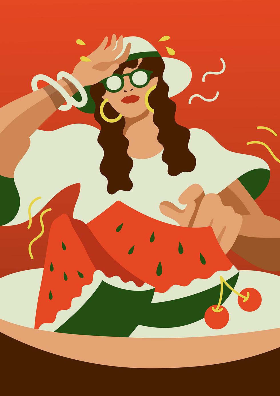 Personal Work Watermelon