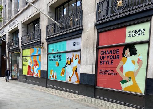Regent Street Display London