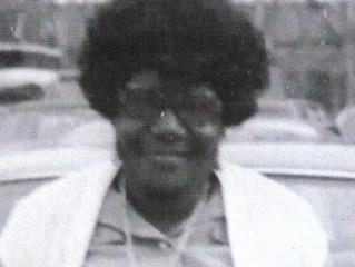 """Evangeline """"Aunt Van"""" Wilson  née Davis"""
