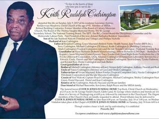 Keith Rudolph Codrington