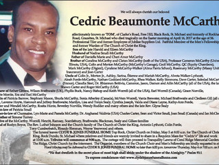 Cedric Beaumonte McCarthy