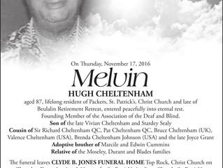 Melvin Cheltenham