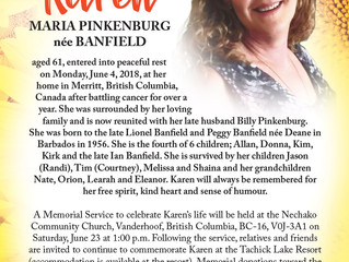 Karen Pinkenburg née Banfield