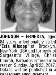 Ernesta Johnson
