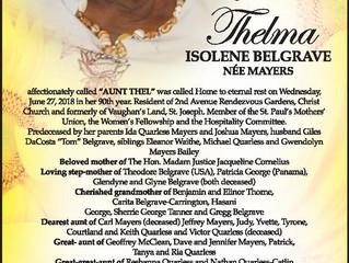 Thelma Belgrave
