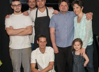 Carlo Morra und sein Team