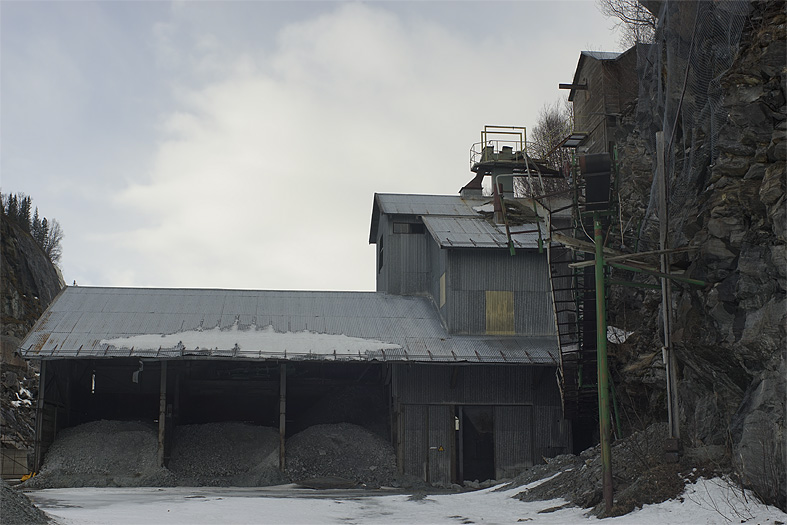 Nedlagd fabrik