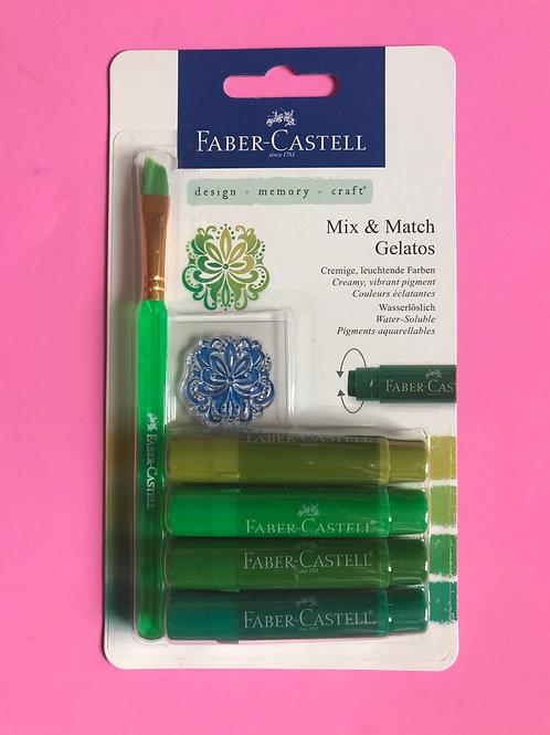 Faber Castell Mix and Match Gelatos Natural Set