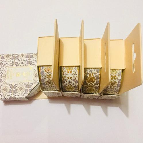 Washi Tape. Patterned Foil Washi Tape