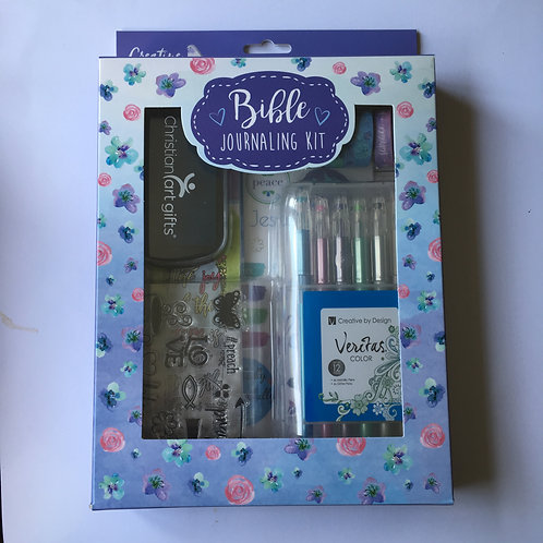 Bible journaling kit box  Christian stamps & Washi tape  Created by design