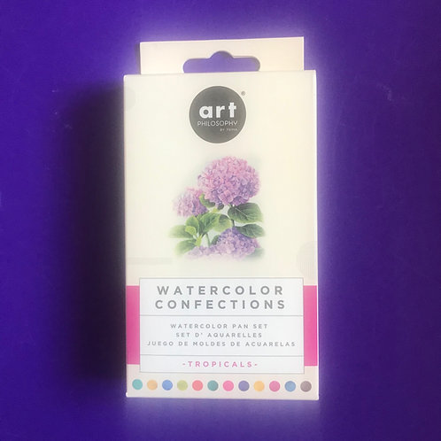 Prima    - Watercolor Confections Watercolour Pans - Tropicals