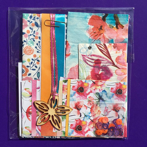 Flower bible journaling kit. Bloom kit