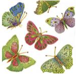 butterfly napkins napkin art