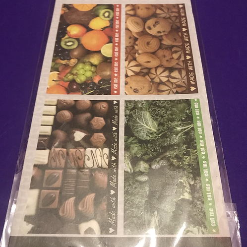 Food Decoupage Papers