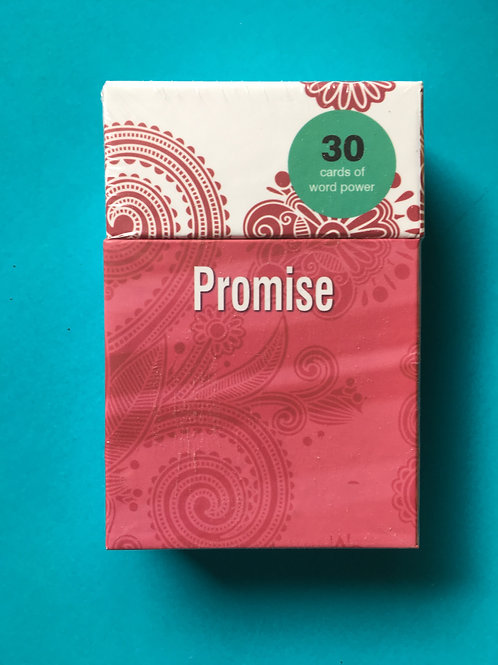 Christian Promise Gift. Word Power Cards. Gift Box
