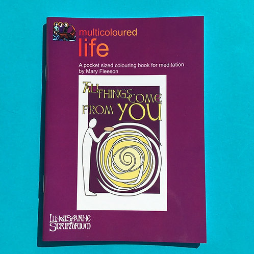 Colourful Life. Colouring Christian Book. Mary Fleeson