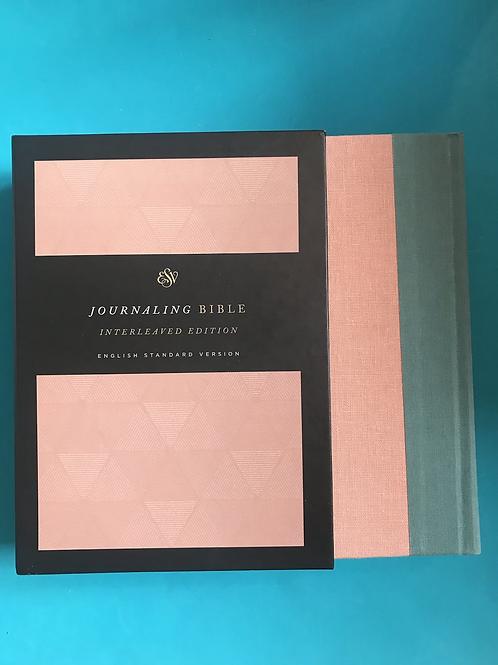 ESV Journaling Bible, Interleaved Handback
