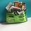 Thumbnail: Bible Journaling Art Bag. Green Storage Bag