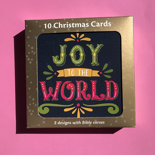 Christian Christmas Cards. Christmas Card Pack. Bible Verse Cards