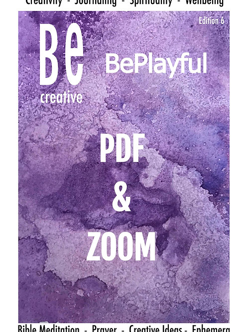 Be Creative ZOOM Me BeginnerGuide to Bible Art journaling. Be Creative