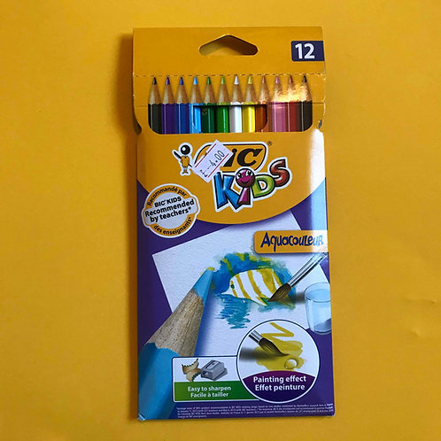 BIC Watercolour Pencils