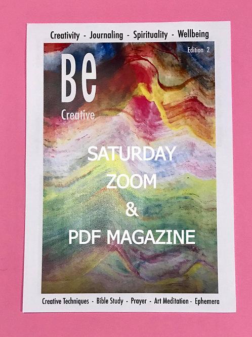 Zoom Meetings & Beginners Guide to Bible Art Journaling. BE Creative 2 PDF