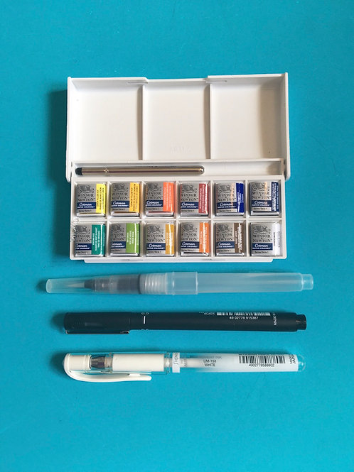 Bible Journaling Beginners Kit Essential Art Resources
