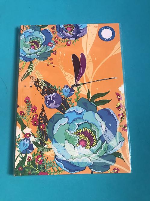 Softback A5 Sketchbook. Blank Sketchbook