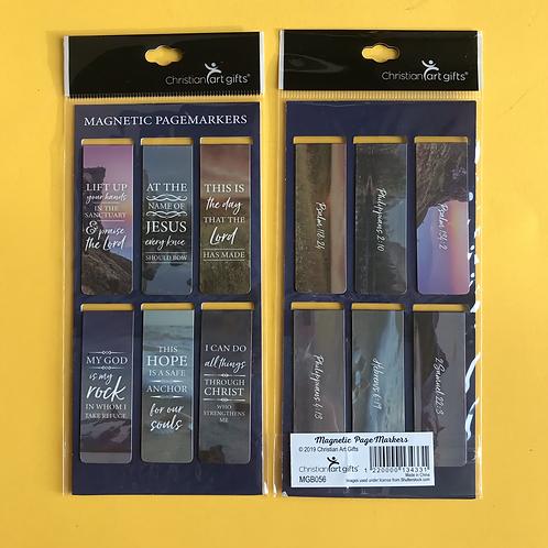 Magnetic Bookmark. Christian Gift for men