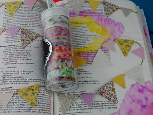 Large tube of Christian Washi Tape