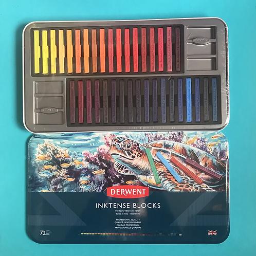 Derwent Inktense Watercolour  Colour Blocks