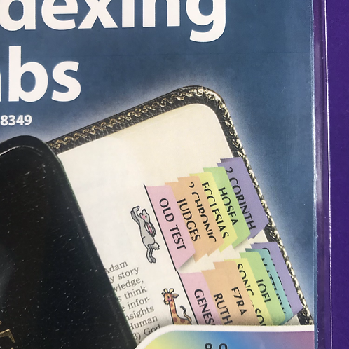 Noah's Ark Rainbow Colour Bible Indexing Tabs