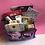 Thumbnail: Bible Journaling Art Bag. Purple Storage Bag