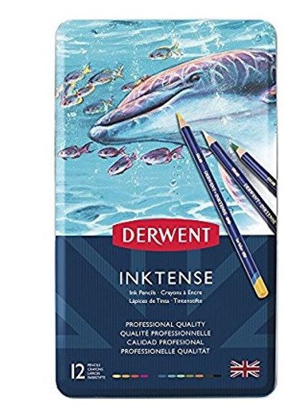 Derwent Inktense Watercolour Pencils