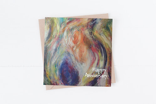 Happy Anniversary Greeting Card.