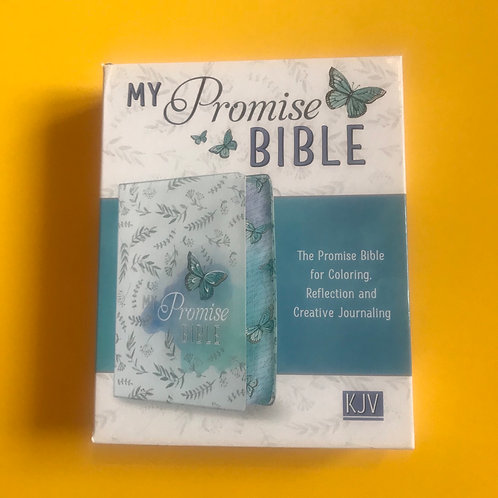 KJV My Promise Bible Silky But Leather