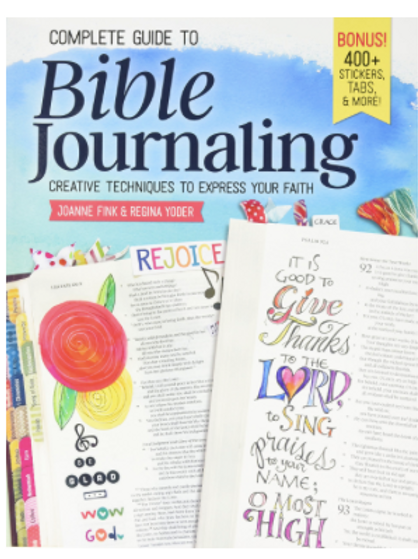Bible Journaling Christian Gift, Complete Guide to Bible Journaling Book