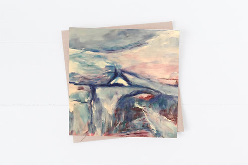 Blank Greeting Card. Greetings Cards. Landscape