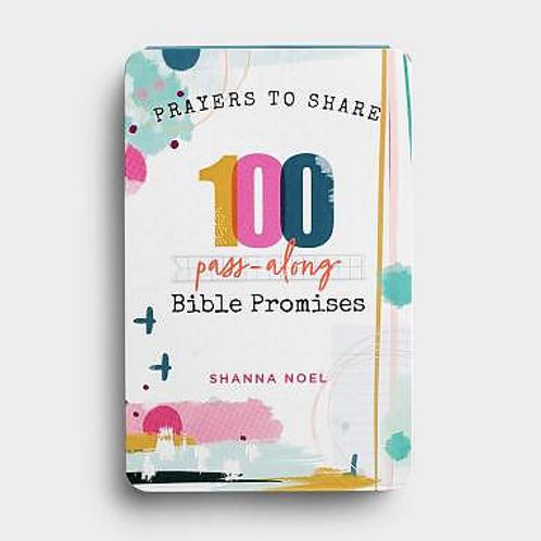 Prayers To Share - 100 Pass-Along Bible Promises.