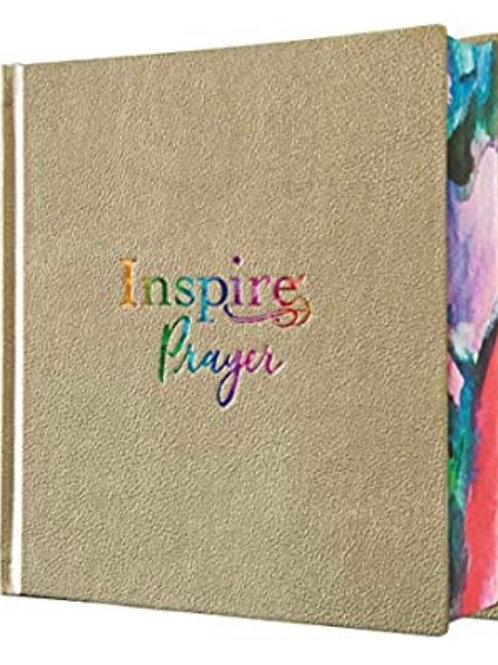 Hardback Inspire NLT PRAYER Journaling Bible. Lovely Christmas Gift.