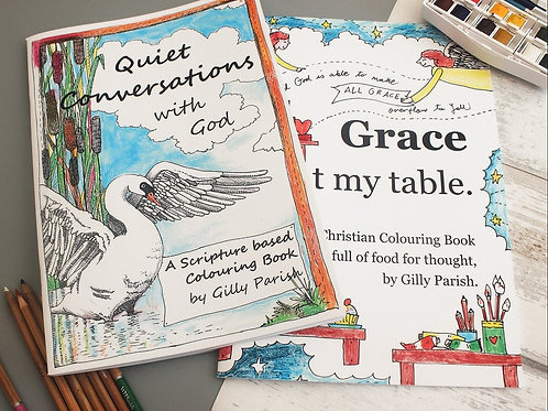 Christmas Gifts. Christian Colouring books. Bible Verse Colouring