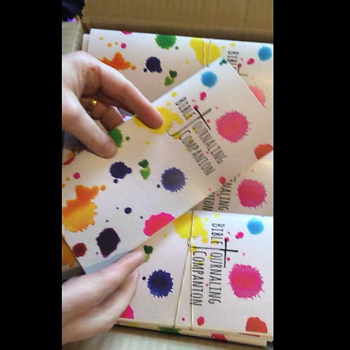 Bible Journaling Booklet - UK Bible Journalling - Identity Kit