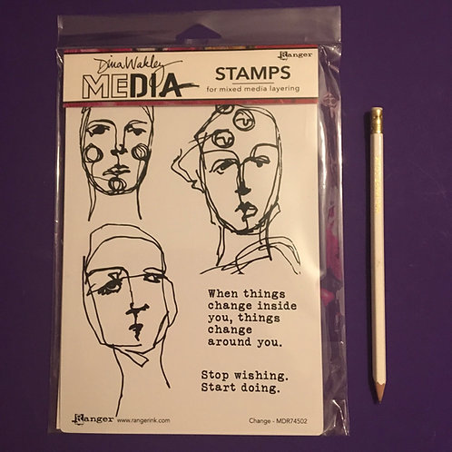 Diana Wakley Stamps Change
